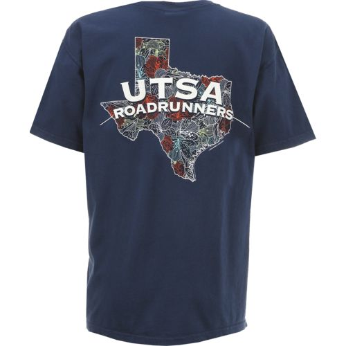 New New World Graphics Women's University of Texas at San Antonio Comfort Color Puff Arch T-shirt for cheap