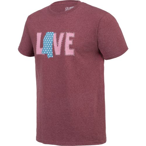 State Love Men's LOVE Mississippi Short Sleeve T-shirt - view number 3
