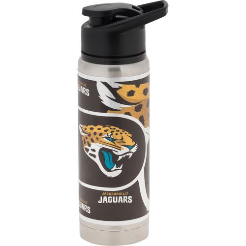 Great American Products Jacksonville Jaguars 20 oz Metallic Water Bottle