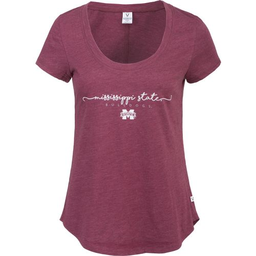 Venley Women's Mississippi State University Slub T-shirt