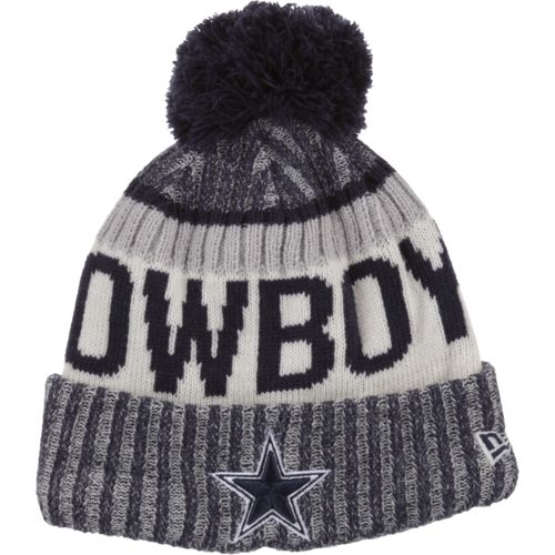 New Era Men's Dallas Cowboys Sideline Sport Knit Cap