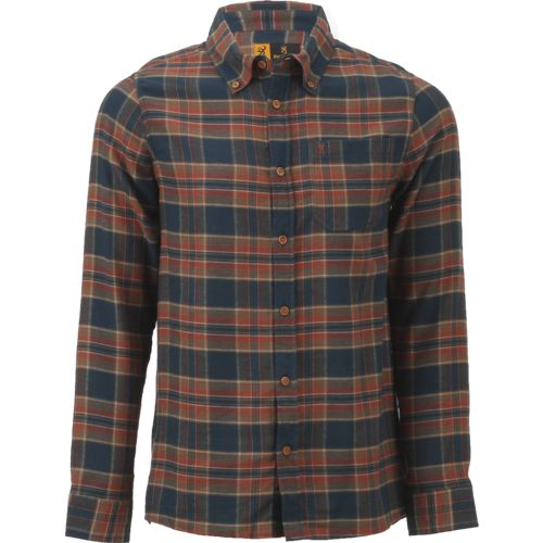 Browning Men's Buckmark Crawford Flannel Plaid Button-Down Shirt