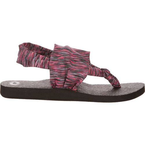 O'Rageous Girls' Soft Strap Thong Sandals
