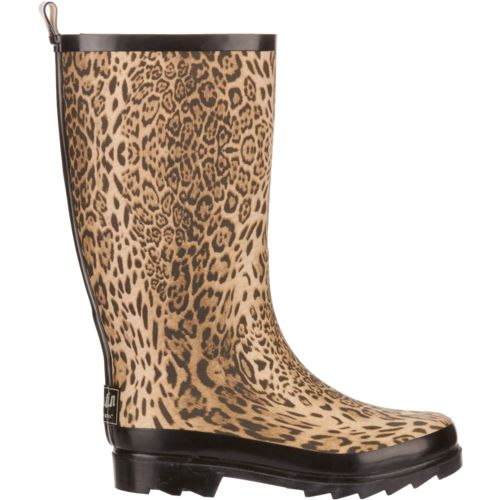 Austin Trading Co. Women's Leopard Rubber Boots - view number 1