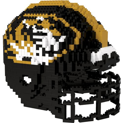 Forever Collectibles University of Missouri 3-D BRXLZ Helmet Puzzle