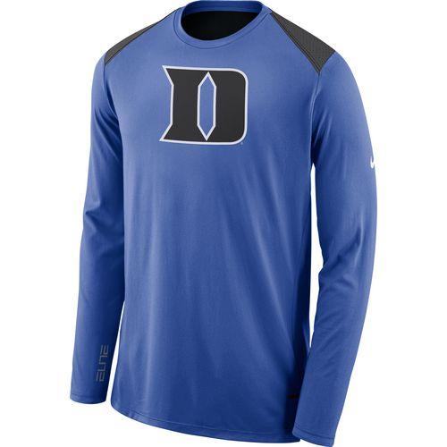 Nike Men's Duke University Sideline Shooter Long Sleeve T-shirt