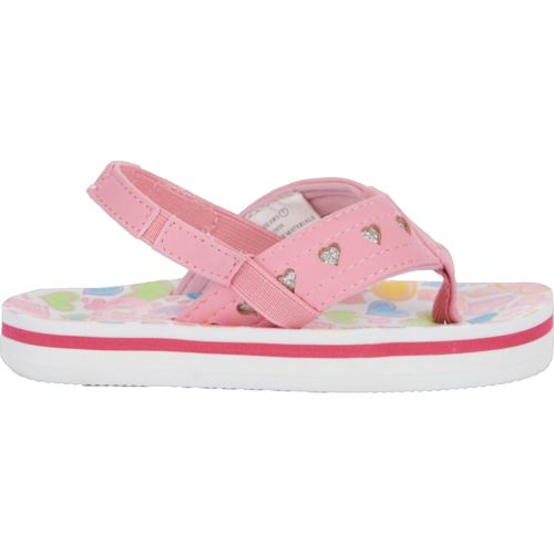 O'Rageous Toddler Girls' Hearts II Flip-Flops