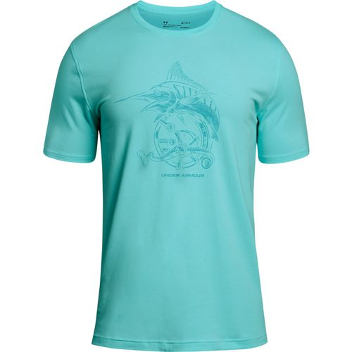 Under Armour Men's Marlin Reel T-Shirt in (Blue Light/Medium Blue)