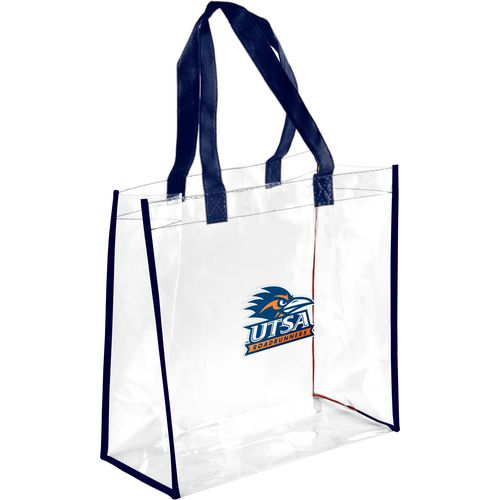 Display product reviews for Forever Collectibles University of Texas at San Antonio Clear Reusable Bag