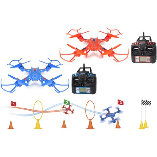 World Tech Toys Elite Zip & Zap 2.4 GHz 4.5-Channel RC Racing Drones Set - view number 8
