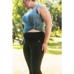 BCG Women's Tummy Control Plus Size Capri Pant - view number 5