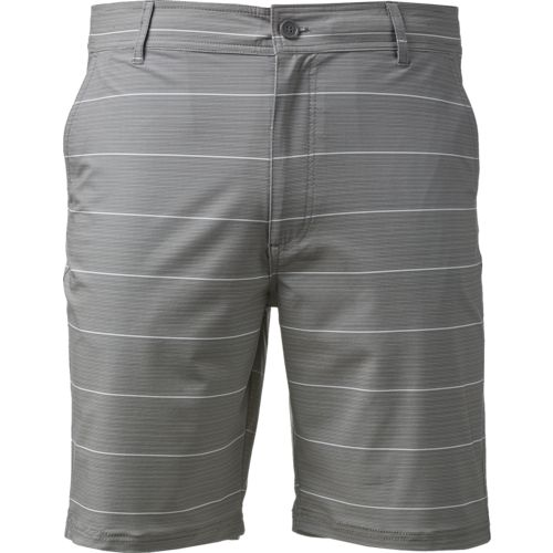 O'Rageous Men's Hybrid Stripe Boardshorts