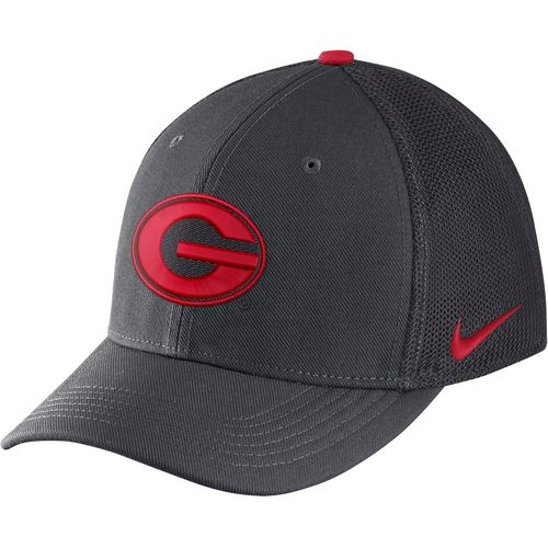 Nike Men's University of Georgia AeroBill Classic99 Swoosh Flex Meshback Cap