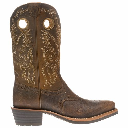 Display product reviews for Ariat Men's Heritage Roughstock Western Boots