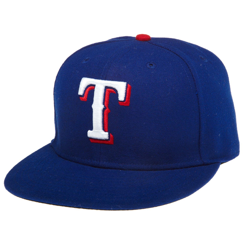 New Era Men's Authentic Collection 59FIFTY Rangers Cap