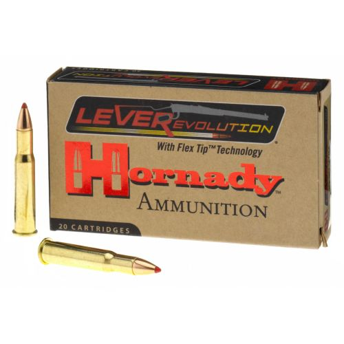 Hornady FTX® LEVERevolution® .30-30 Winchester 160-Grain Rifle