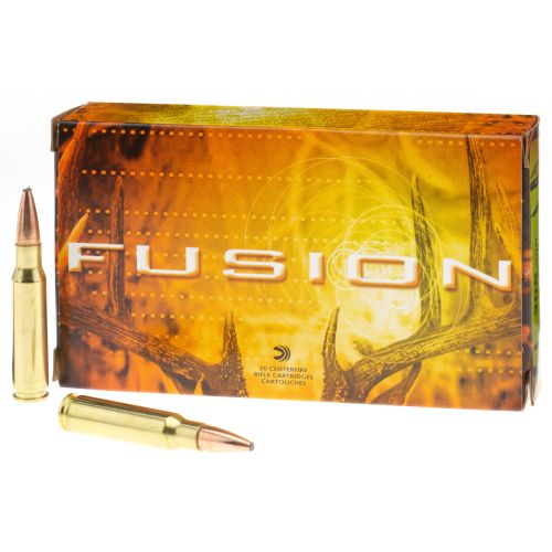 Federal® Fusion® .308 Winchester 165-Grain Rifle Ammunition