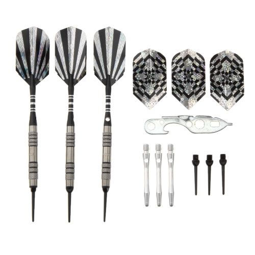 DMI Sports Arachnid 90% Tungsten Soft-Tip Darts Set