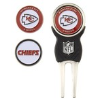 Team Golf Carolina Panthers Divot Tool and Ball Marker Set