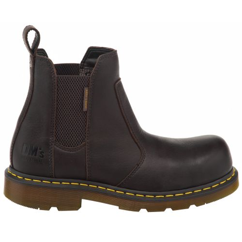 Dr. Martens Men's Flux Fusion Chelsea Steel-Toe Industrial
