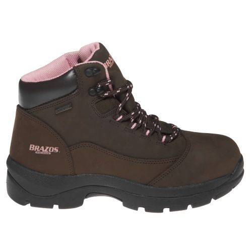 Image for Brazos® Women's Nubuck ST Waterproof Work Boots from Academy