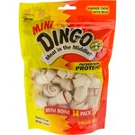 Dingo Meat In the Middle Mini Dog Bones 14-Pack