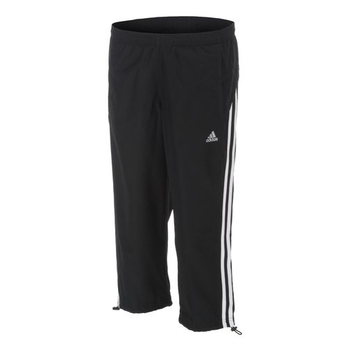 adidas Women's 3-Stripes Wind Capri Pant