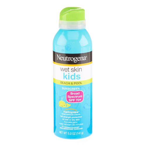 Image for Neutrogena Kids' Wet Skin 5 fl. oz. SPF70+ Sunblock Spray from Academy