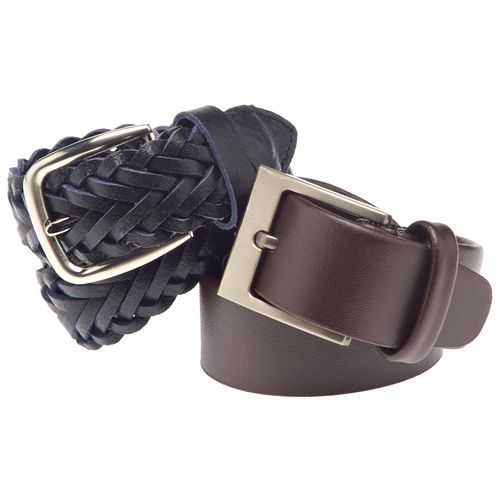 Austin Trading Co. Boys' Leather Belts 2-Pack