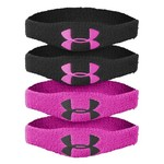 "Under Armour® 1/2"" Oversize Performance Wristbands 4-Pack"