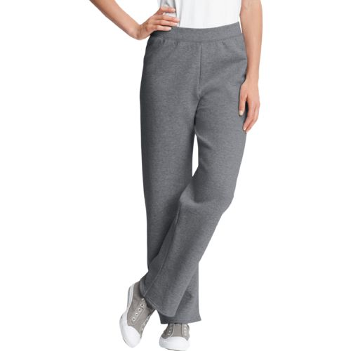 Hanes Women's Cotton Rich Fleece Pant