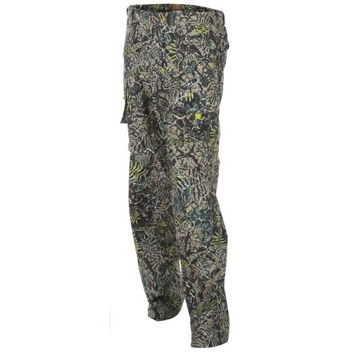 Brush Country Camouflage Men's Allover Mesquite Camo Pattern Zip Off Pant