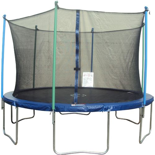 Jump Zone 14 Round Trampoline With Enclosure Academy