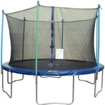 Jump Zone™ 14' Round Trampoline with Enclosure - view number 1