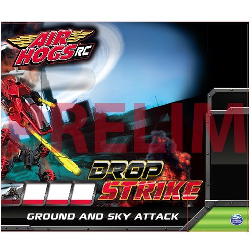 Air Hogs Dropstrike Assist Radio Controlled Vehicle
