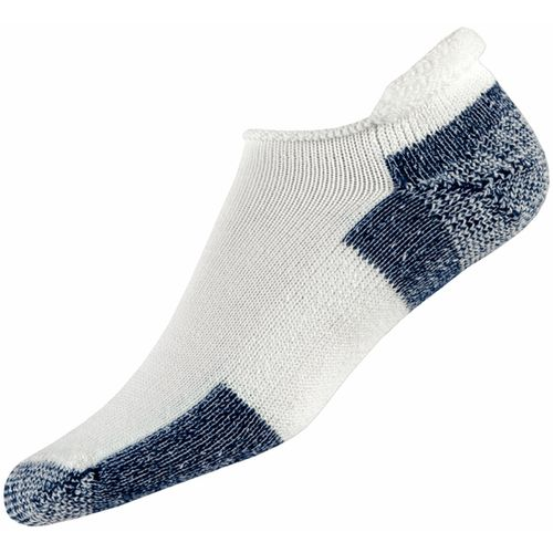 Thorlos Men's Running Rolltop Socks (White/Navy, Size Large) - Athletic Socks Shoes at Academy Sports -  adult