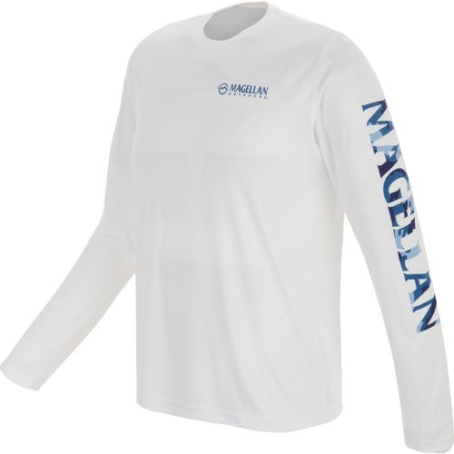 Magellan outdoors men 39 s graphic long sleeve t shirt academy for Magellan long sleeve fishing shirts