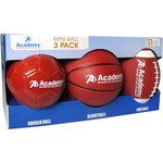 Academy Sports + Outdoors™ Mini Balls 3-Pack