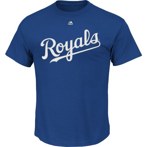 Majestic Men s Kansas City Royals Official Wordmark T-shirt
