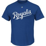 Majestic Men's Kansas City Royals Official Wordmark T-shirt - view number 1