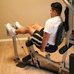 Body-Solid Leg Press Attachment for BSG10X Home Gym - view number 1