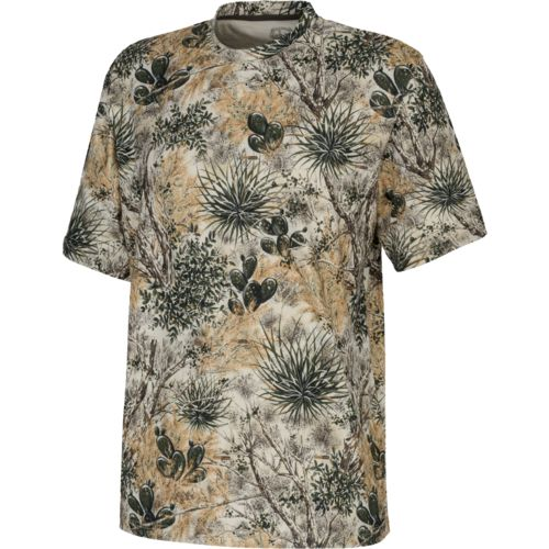 Display product reviews for GameGuard Men's Camo Performance Short Sleeve T-shirt