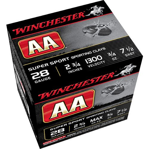Display product reviews for Winchester AA 28 Gauge Super Sport Target Loads