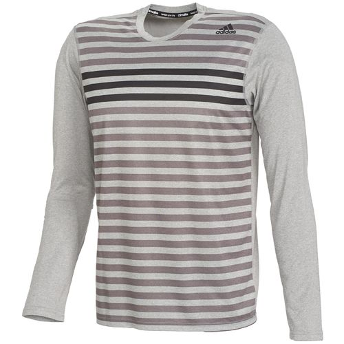 adidas Men s climalite  Lifestyle Long Sleeve T-shirt