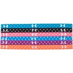 Under Armour® Girls' Graphic Mini Headbands 6-Pack