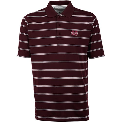 Antigua Men's Mississippi State University Deluxe Polo Shirt