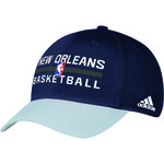 adidas Adults' New Orleans Pelicans Authentic Practice Structured Flex Cap