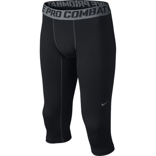 Nike Boys' Pro Combat Core Compression 3/4 Length