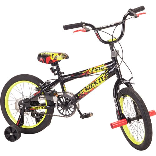 "Display product reviews for Ozone 500® Boys' Kick It 16"" Bicycle"