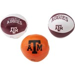 Rawlings® Texas A&M University 3 Point Shot Softee Basketballs 3-Pack
